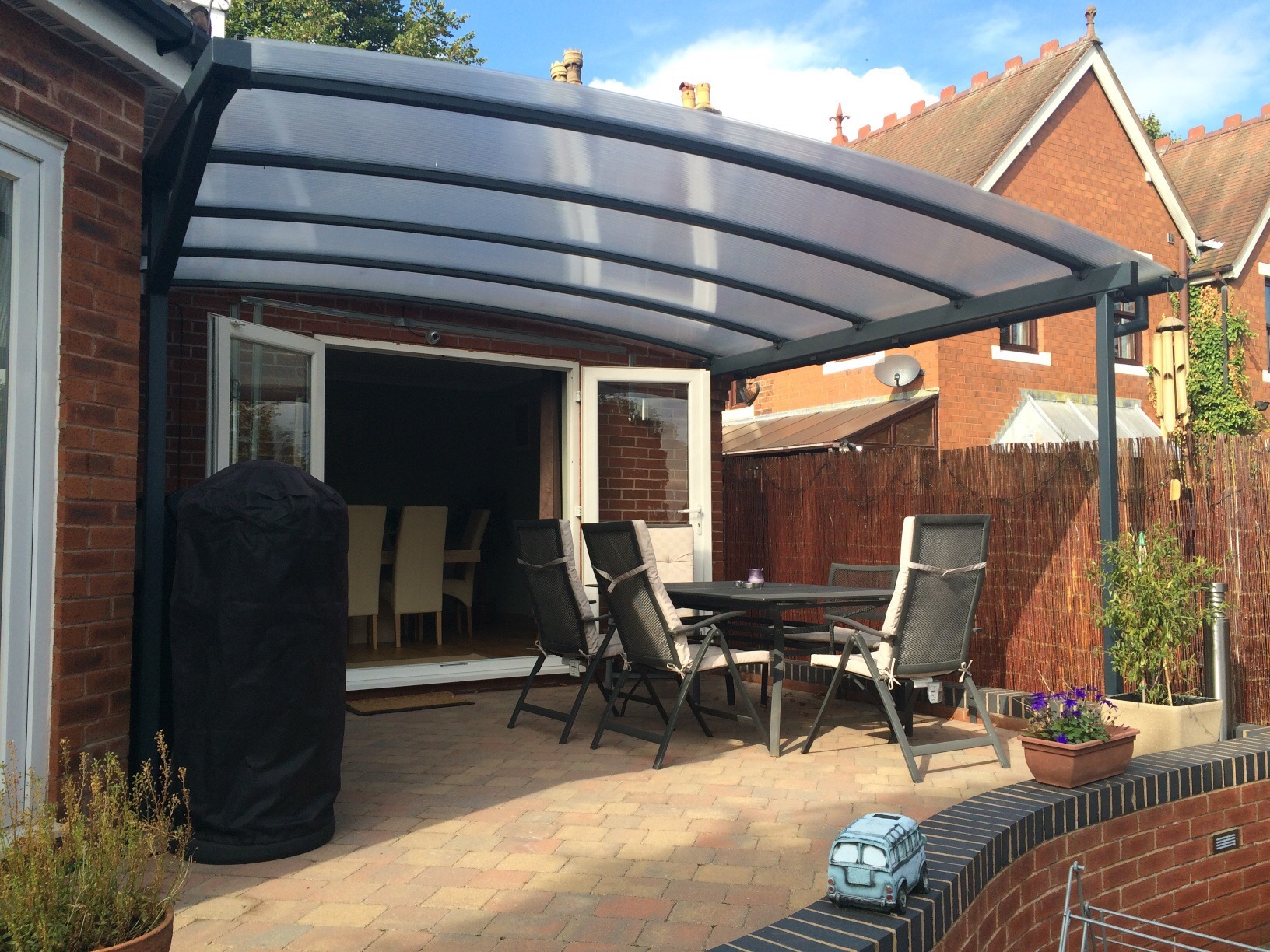 Canopies And Carports : Ultimate freestanding curved carport canopy kappion