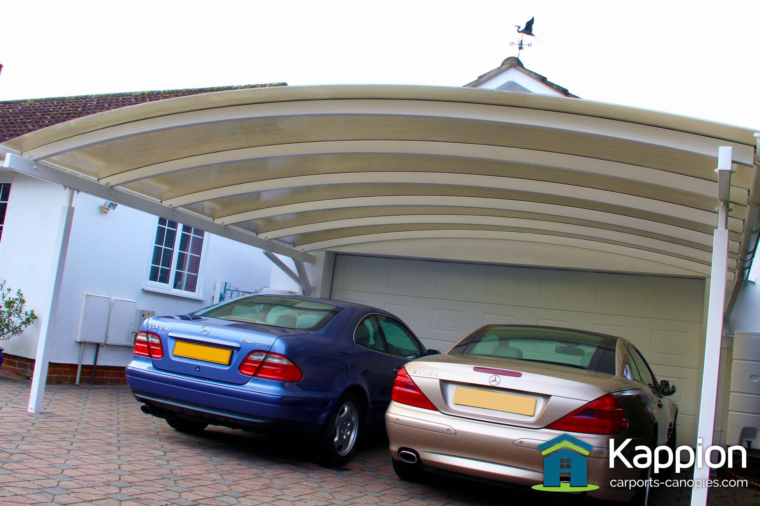 Canopies And Carports : Double carport canopy installed in salisbury kappion