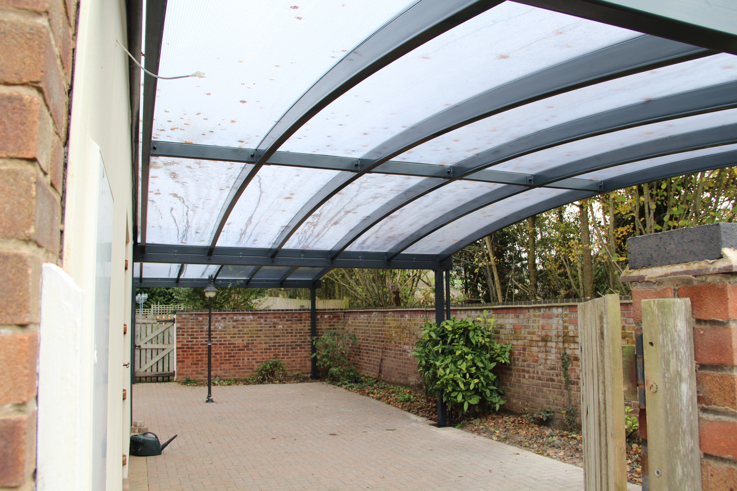 Canopies And Carports : Courtyard canopy installed warwickshire kappion carports