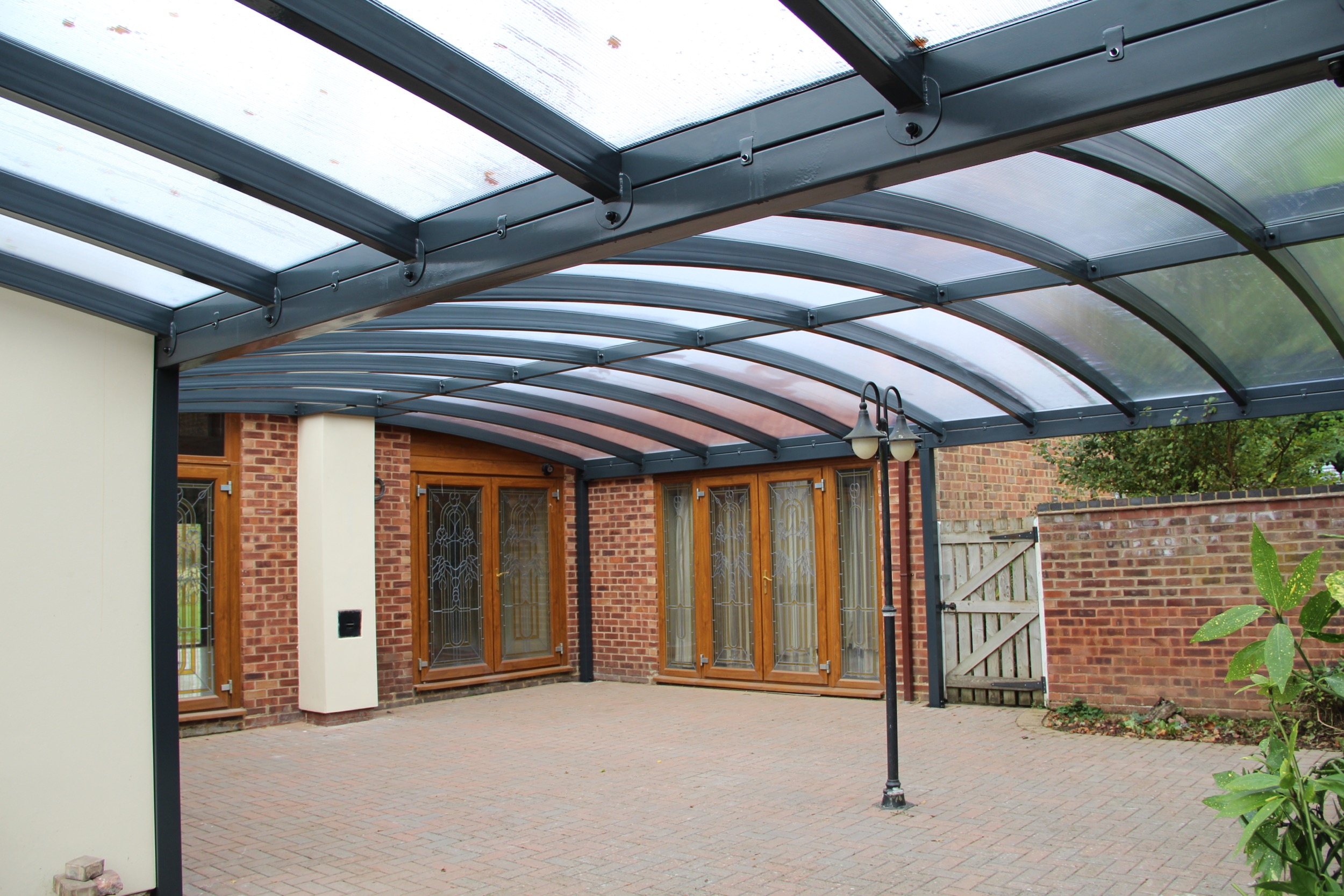 Ultimate Freestanding Curved Carport Canopy | Kappion ...
