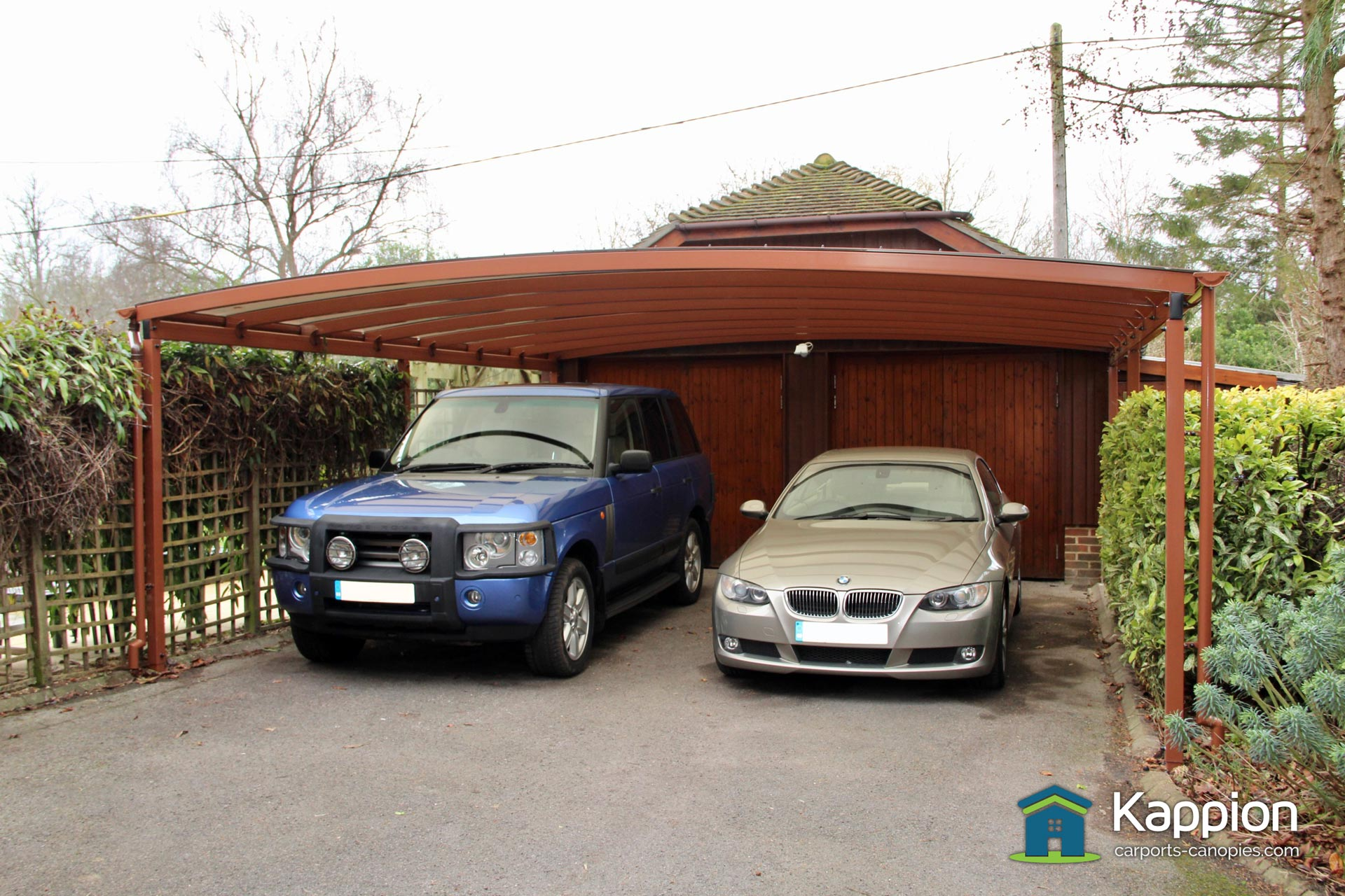 double-canopy-007 & Double Driveway Carport Installed in Salisbury | Kappion Carports