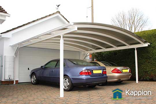 Wall Attached Carports