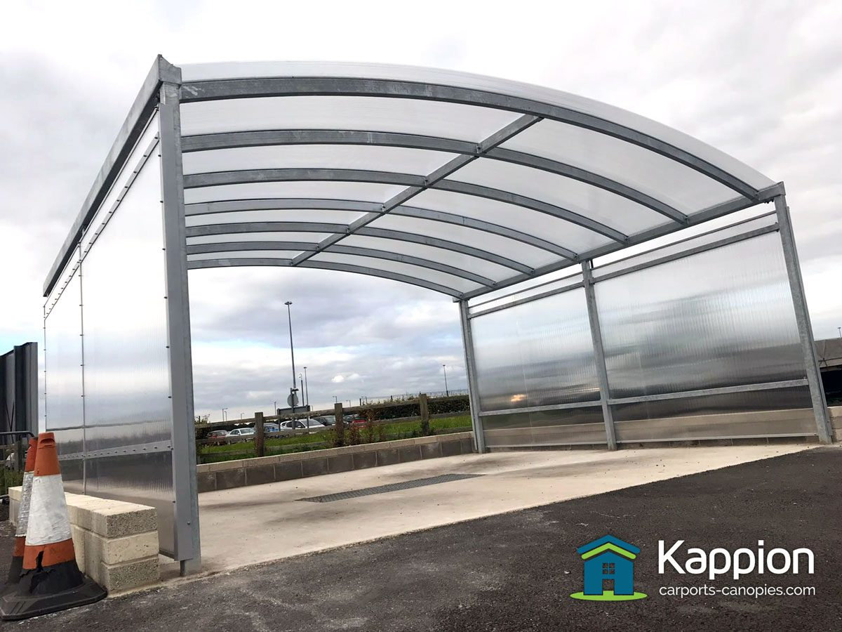 Metal Car Canopies : Car wash canopy for professionals kappion carports
