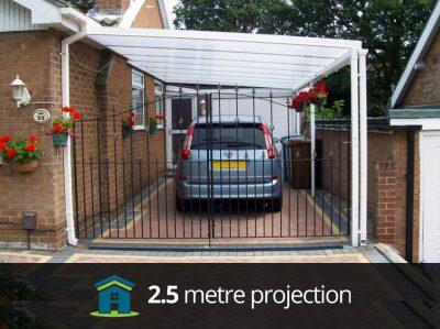 2.5 Metre Projection LivingLife Carport Canopy