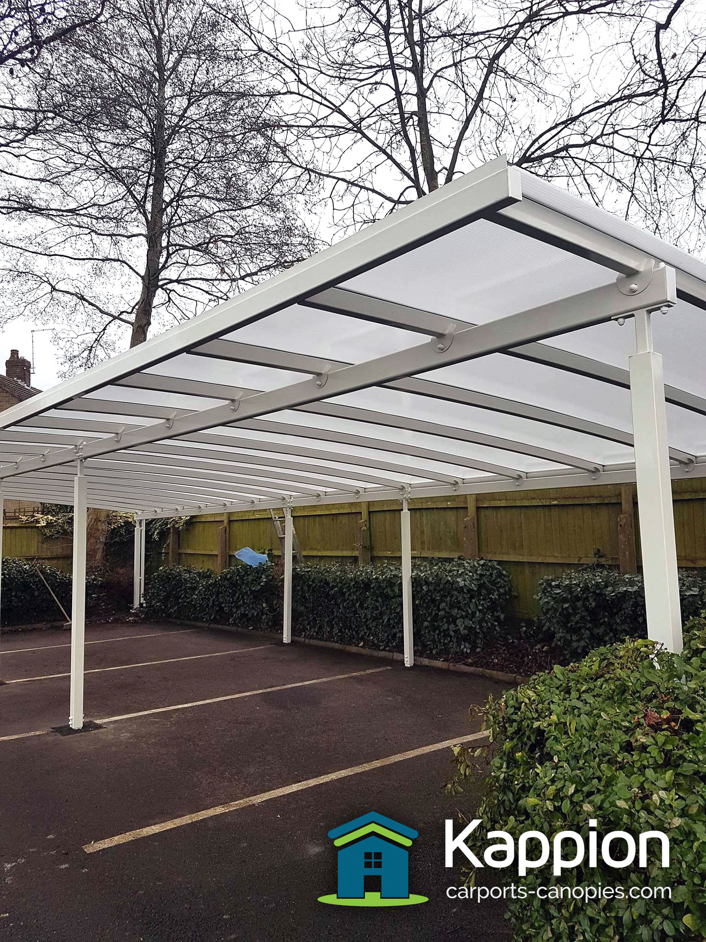 Car Park Canopy Installed In Derbyshire Kappion Carports