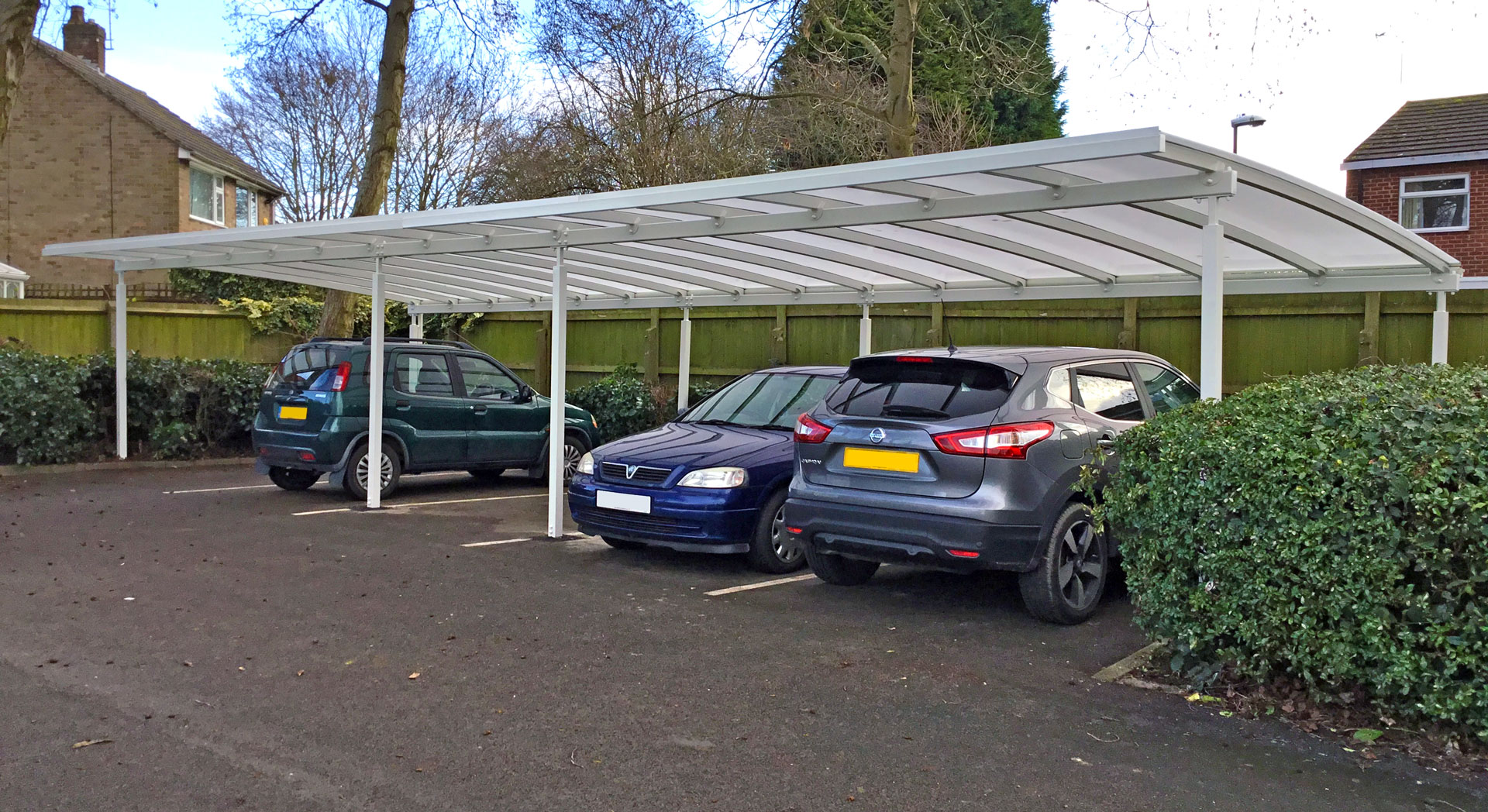 Car Parking Bay Canopy