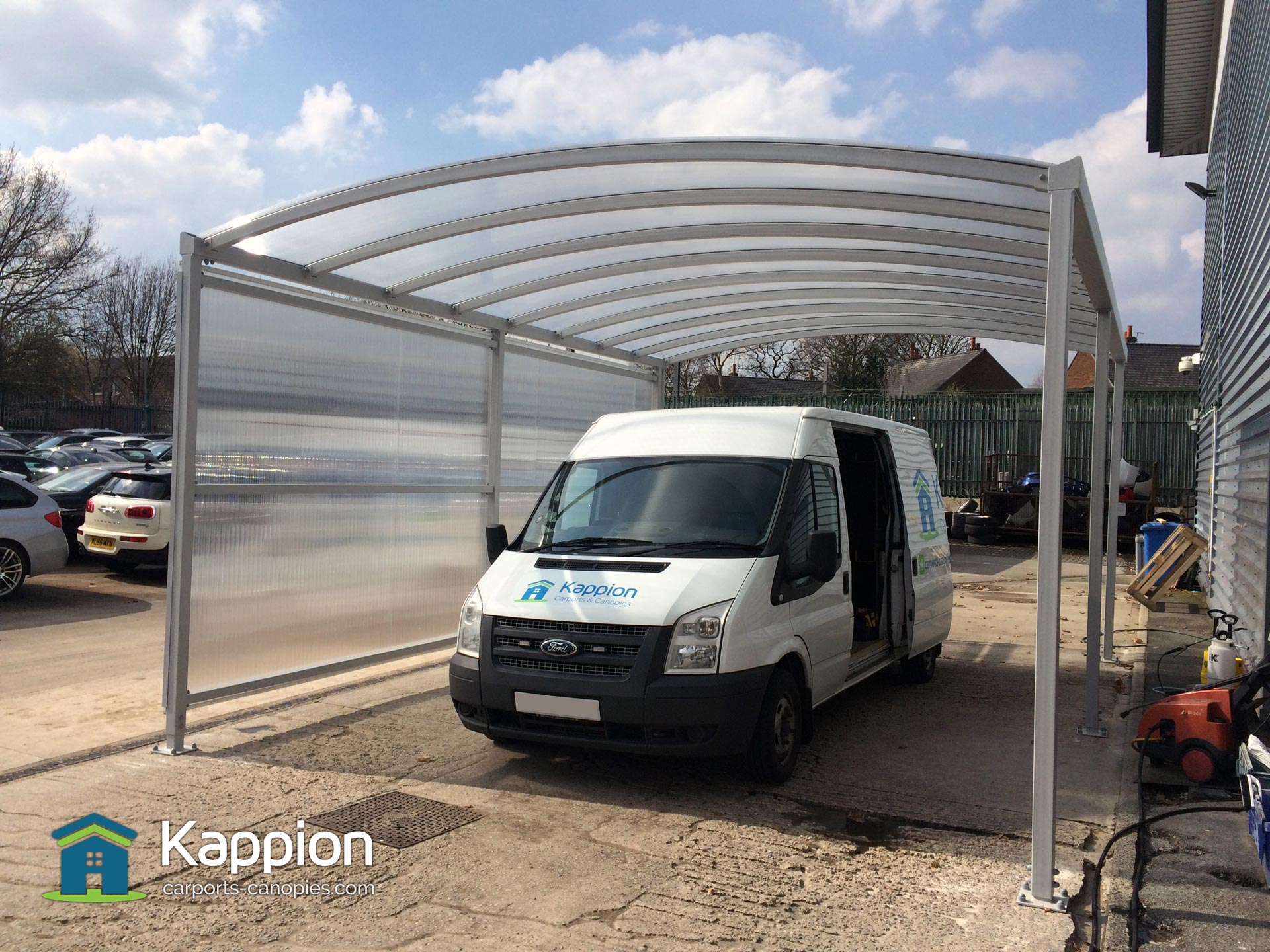 Canopies And Carports : Commercial carport kappion carports canopies
