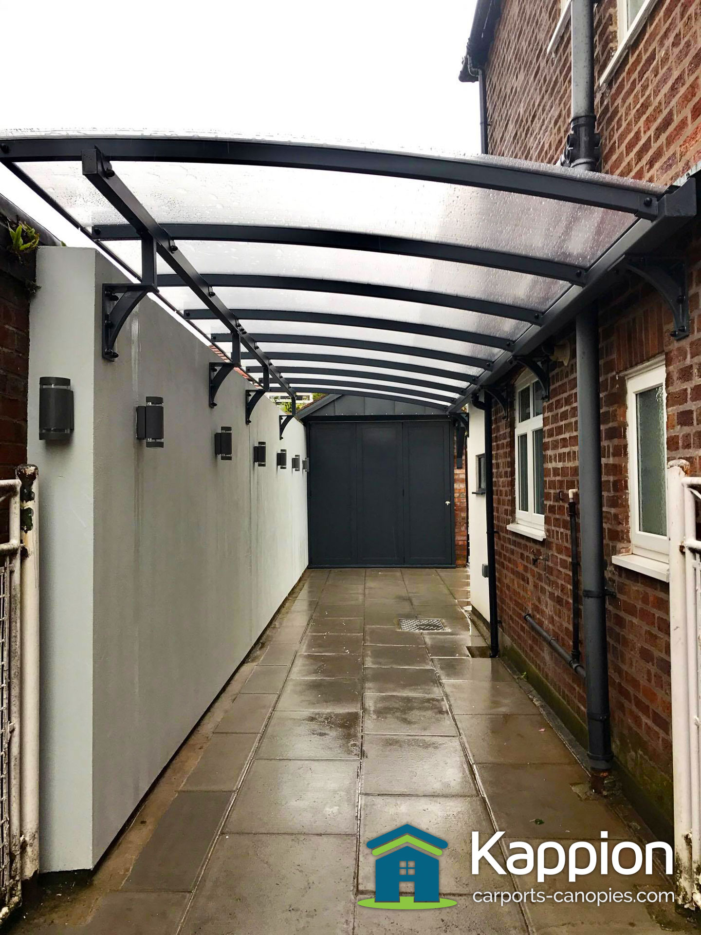 Wall Attached Carport Installed In Liverpool Kappion