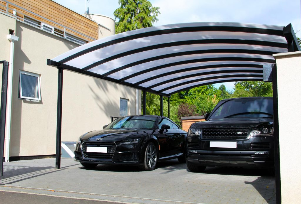 Contemporary Double Carport