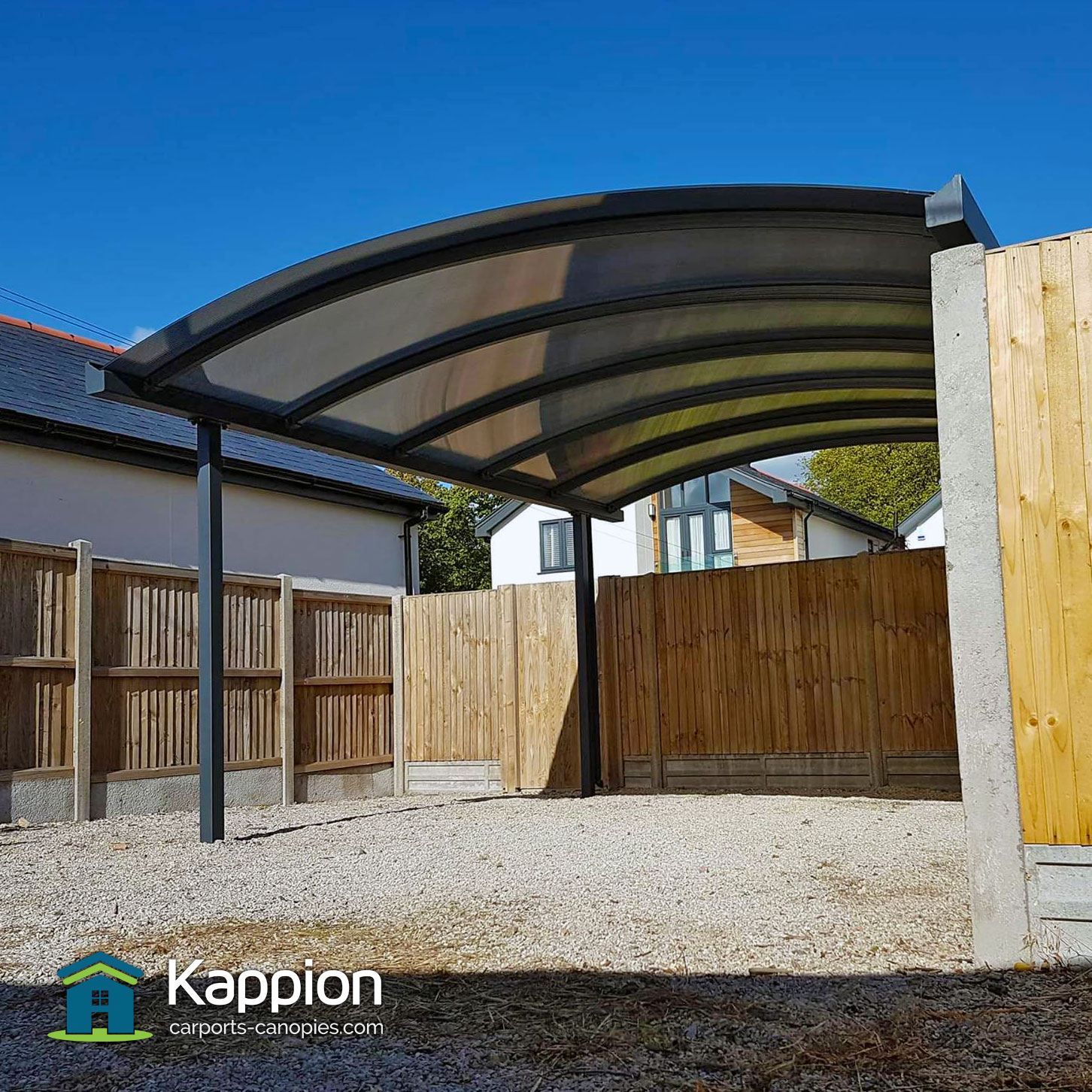 Canopies And Carports : Carport installed in whitstable kappion carports canopies