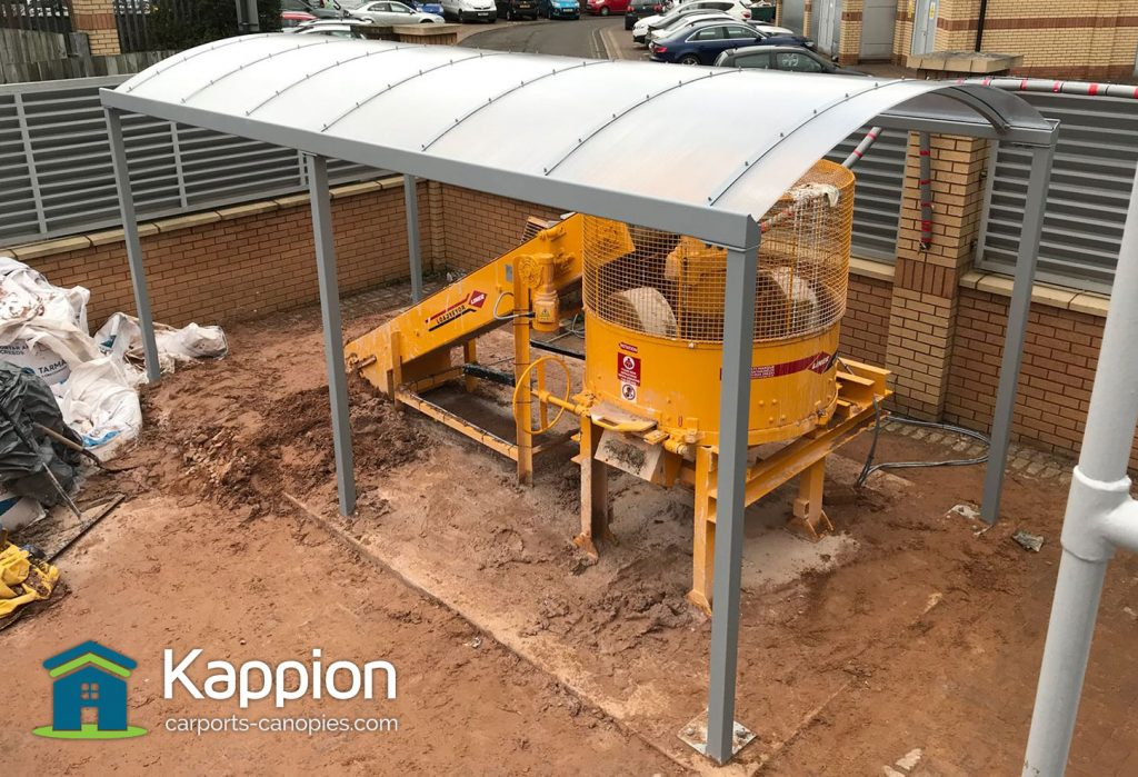Outdoor Construction Canopy Dudley College