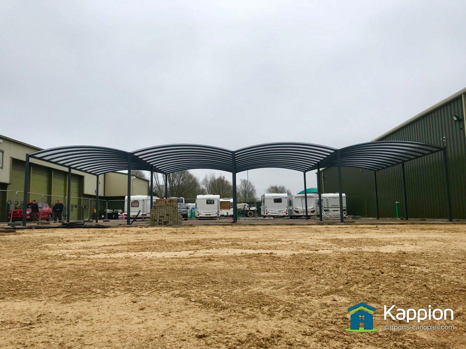 Five Bay Handover Canopy