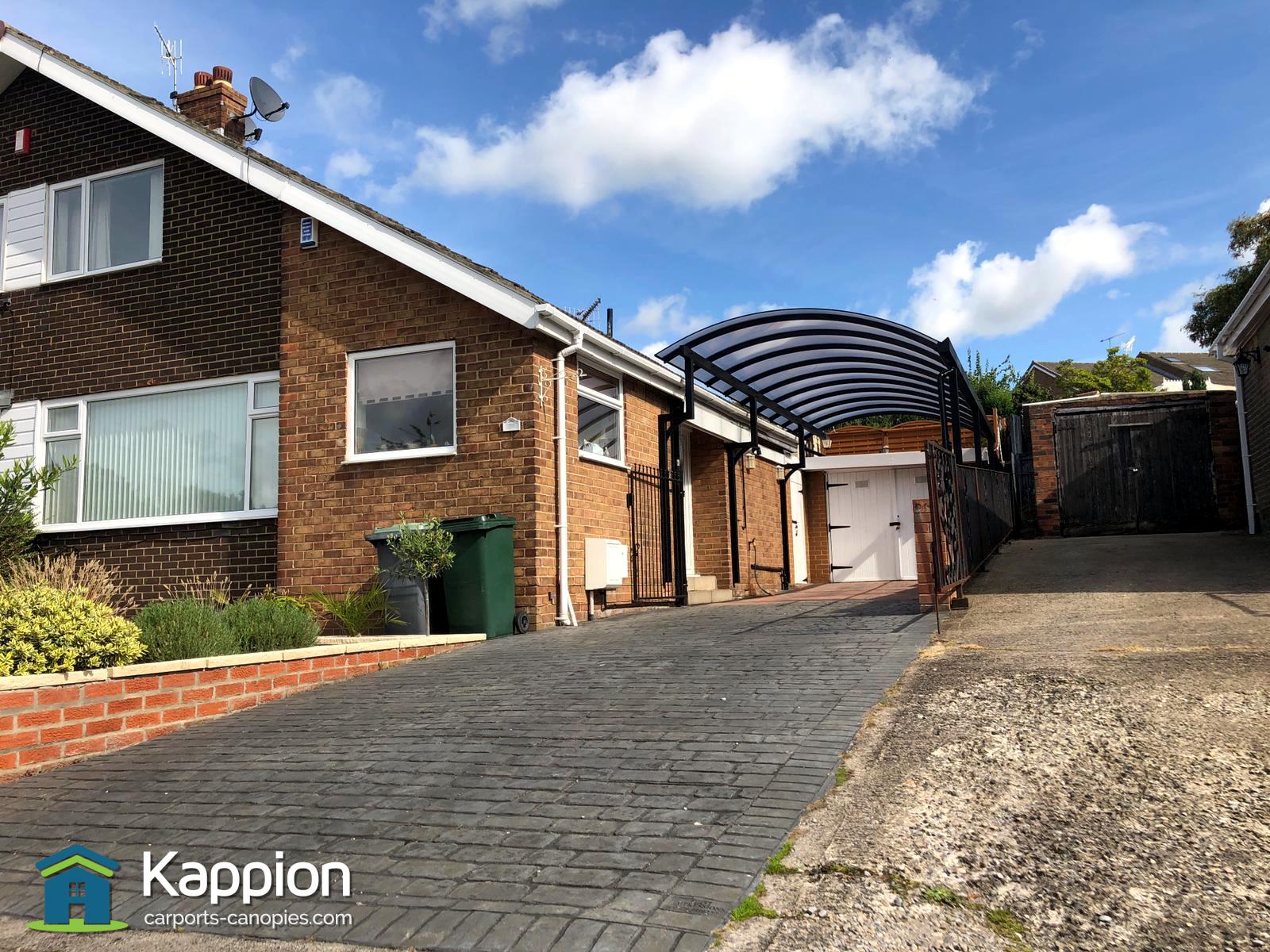 Motorhome Canopy installed in Bradford | Kappion Carports ...