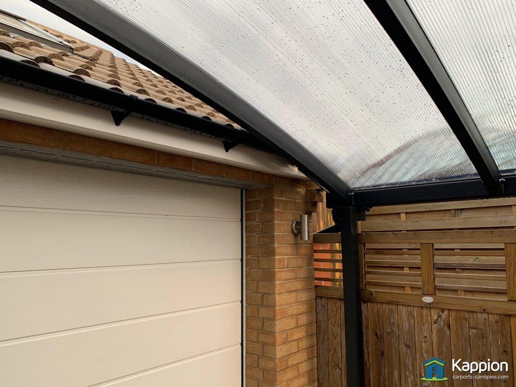 L-shape canopy