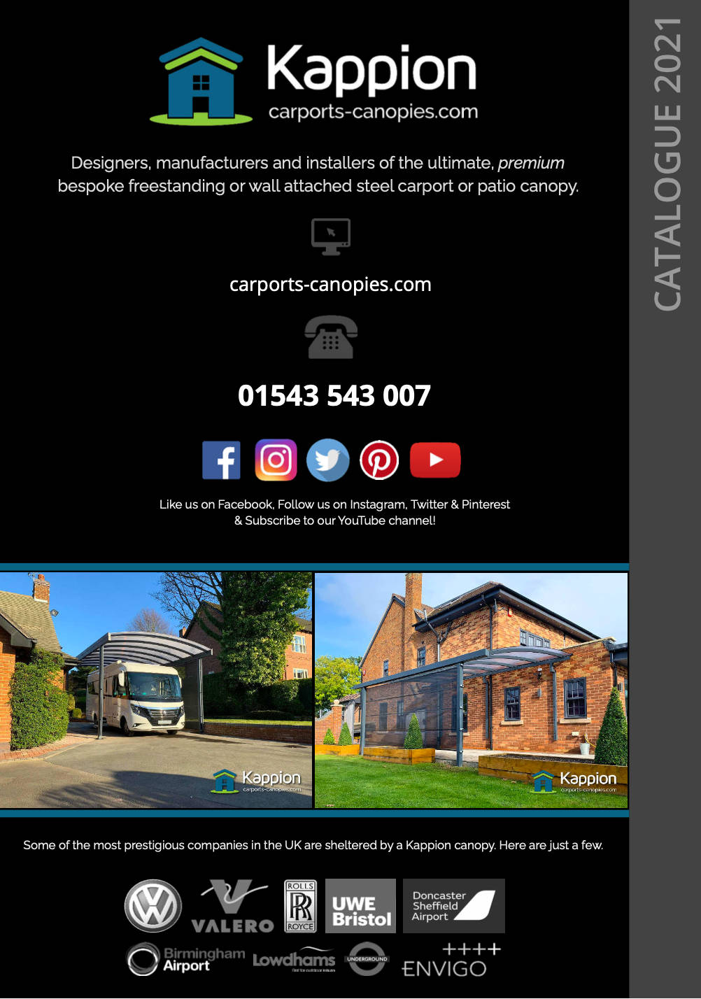 Carport Canopy Brochure Download
