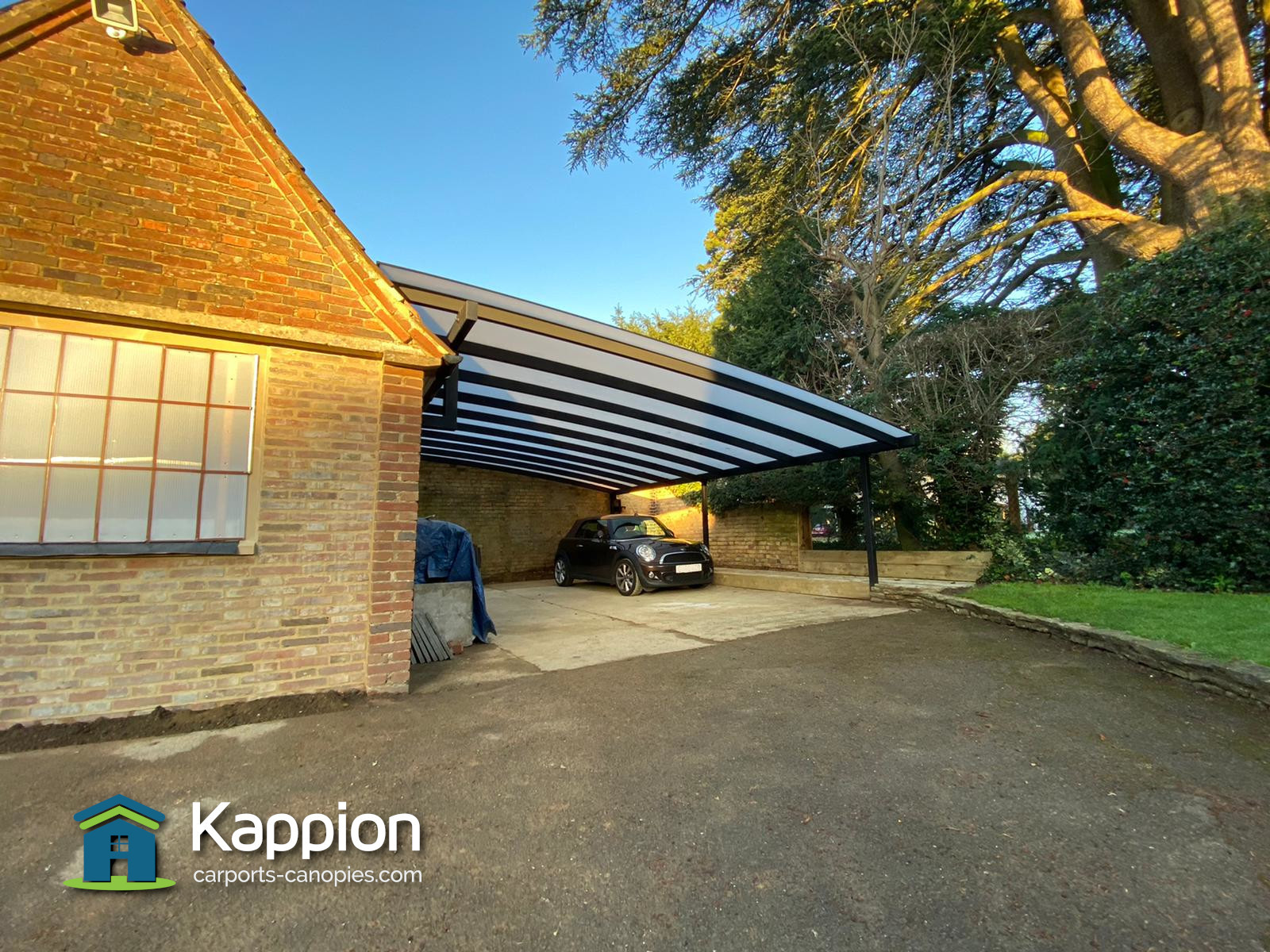 Wall Attached Carport Archives Kappion Carports Canopies